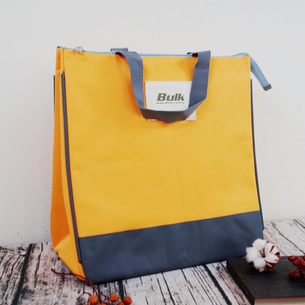 芥末黃經典三角手提保冷袋 D0013