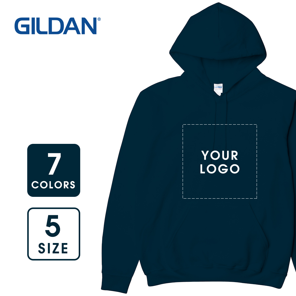 【Gildan】Adult Hooded Sweatshirt