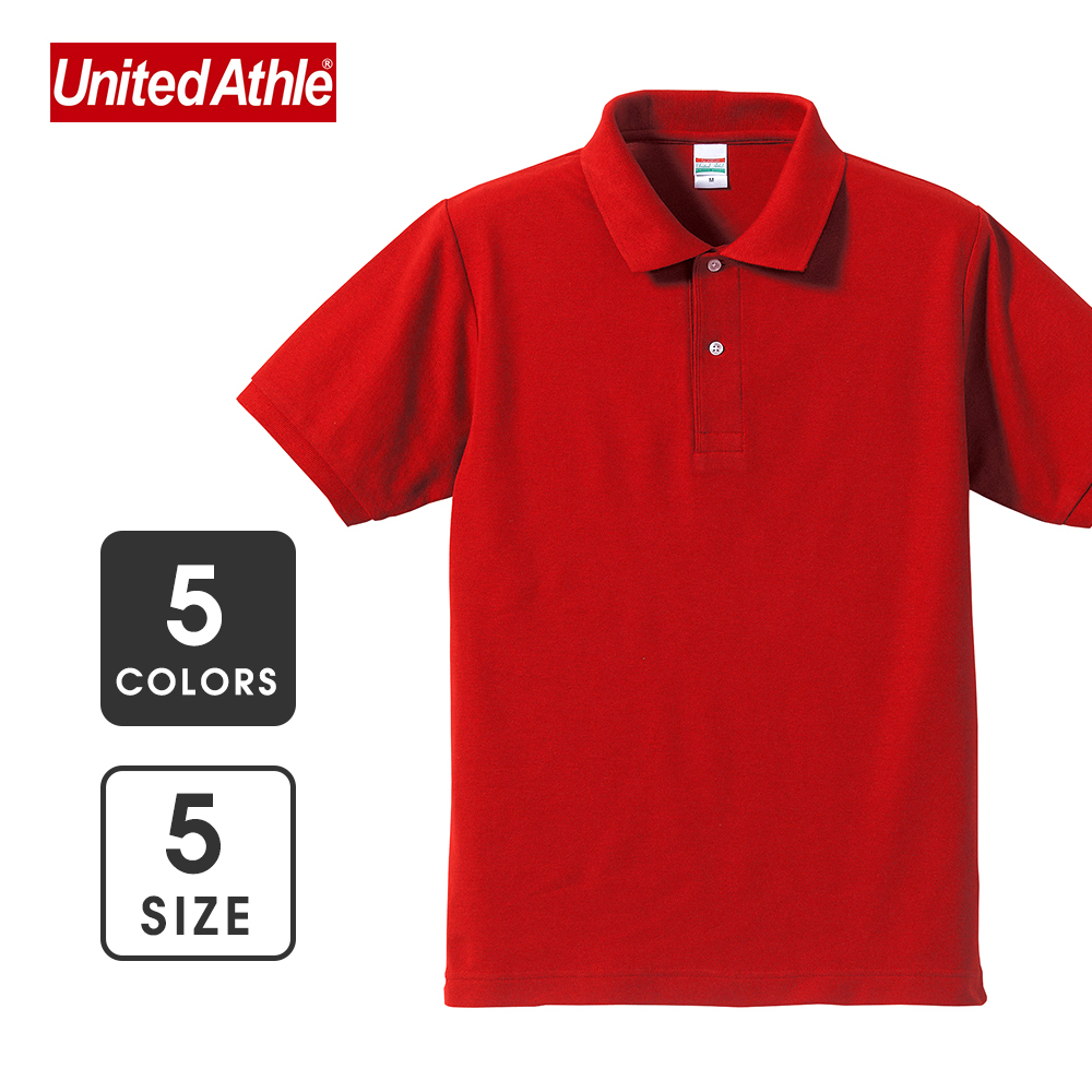 【United Athle】5.3oz Smart casual POLO shirt