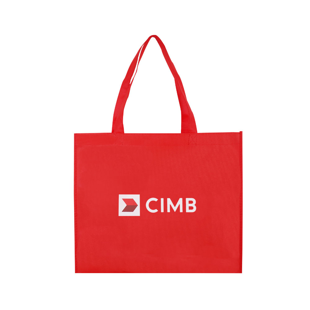 【Customized】Non Woven Shopping Bag - Red C0012