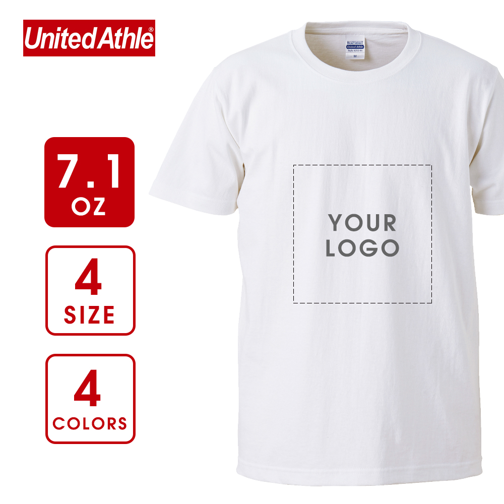【United Athle】7.1 oz Heavyweight US Cotton T-shirt