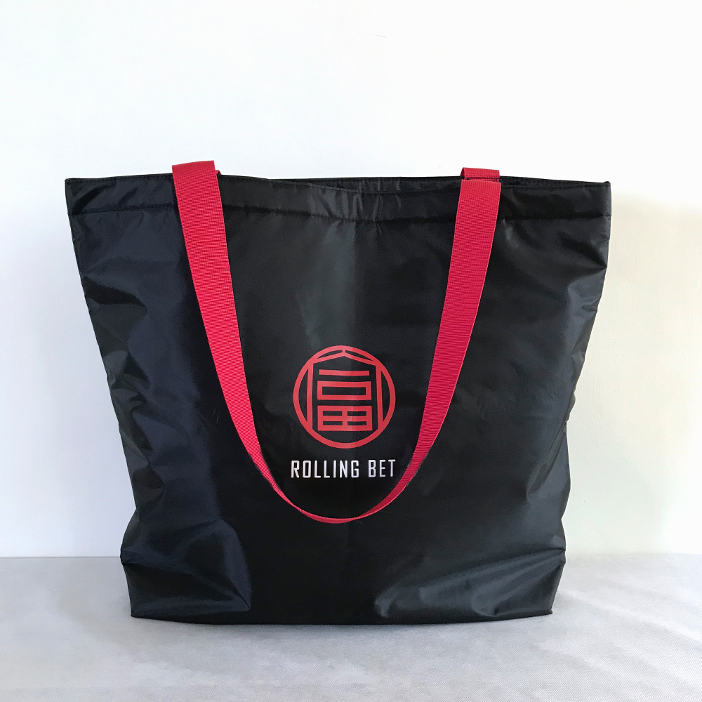 【Customized】Large Storage Oxford Tote Bag with Gusset  I0002
