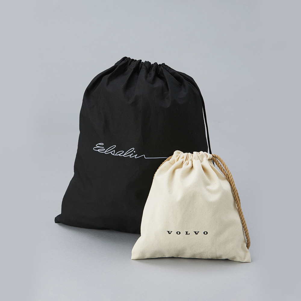 【Customized】Canvas Drawstring Backpack  F0004