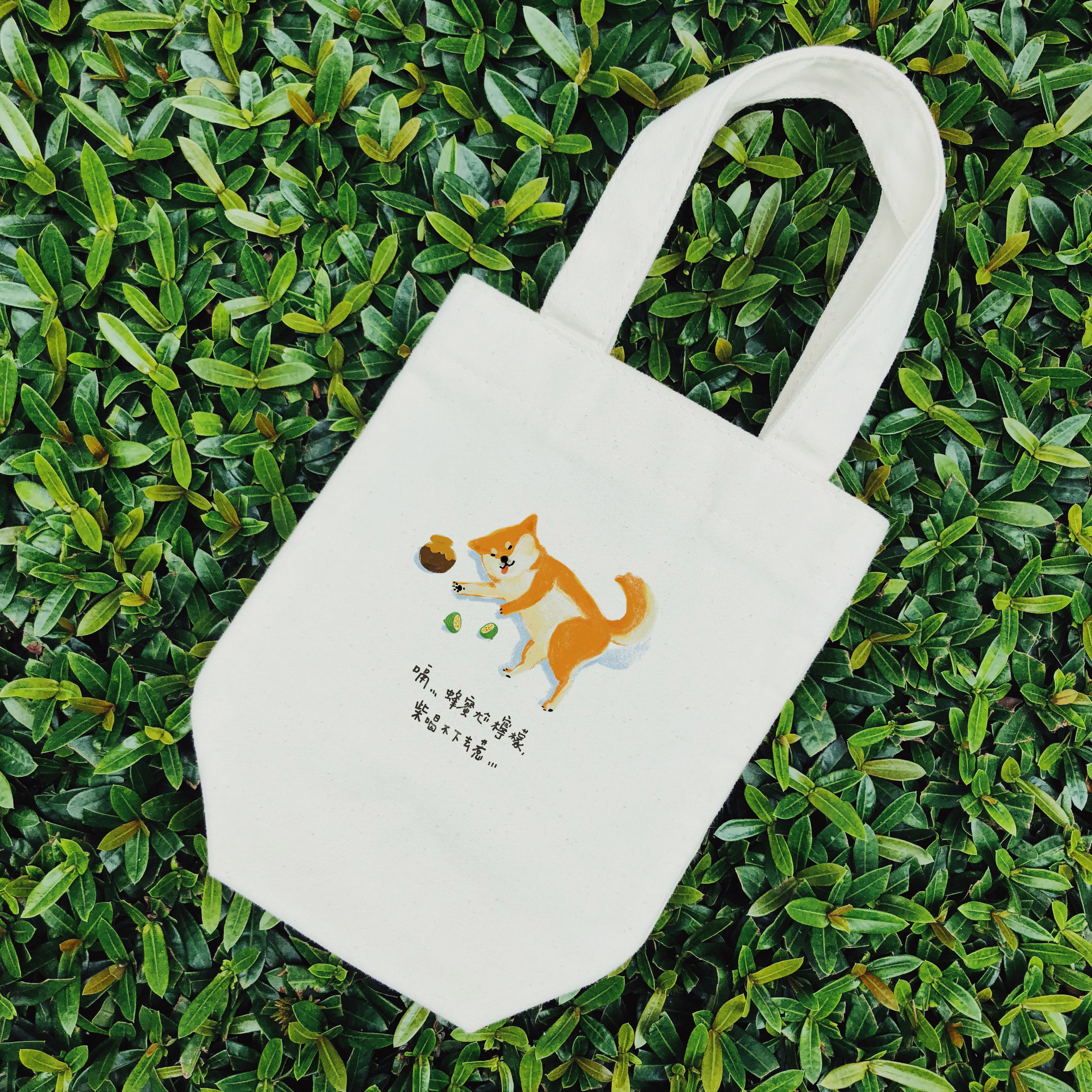 【Custom Printing】 Tote canvas bags for drinks