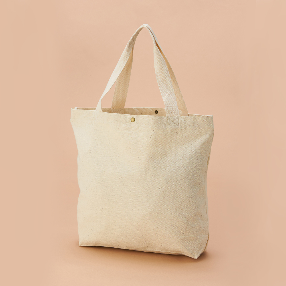 【Custom Printing】Large Canvas Shopping Bag A0013