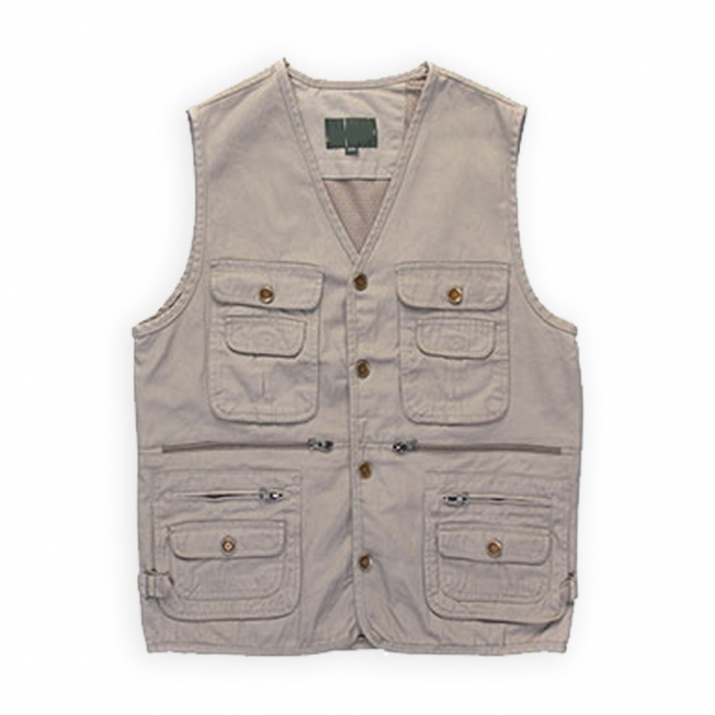 Double Layer Pockets Angling Vest 97400