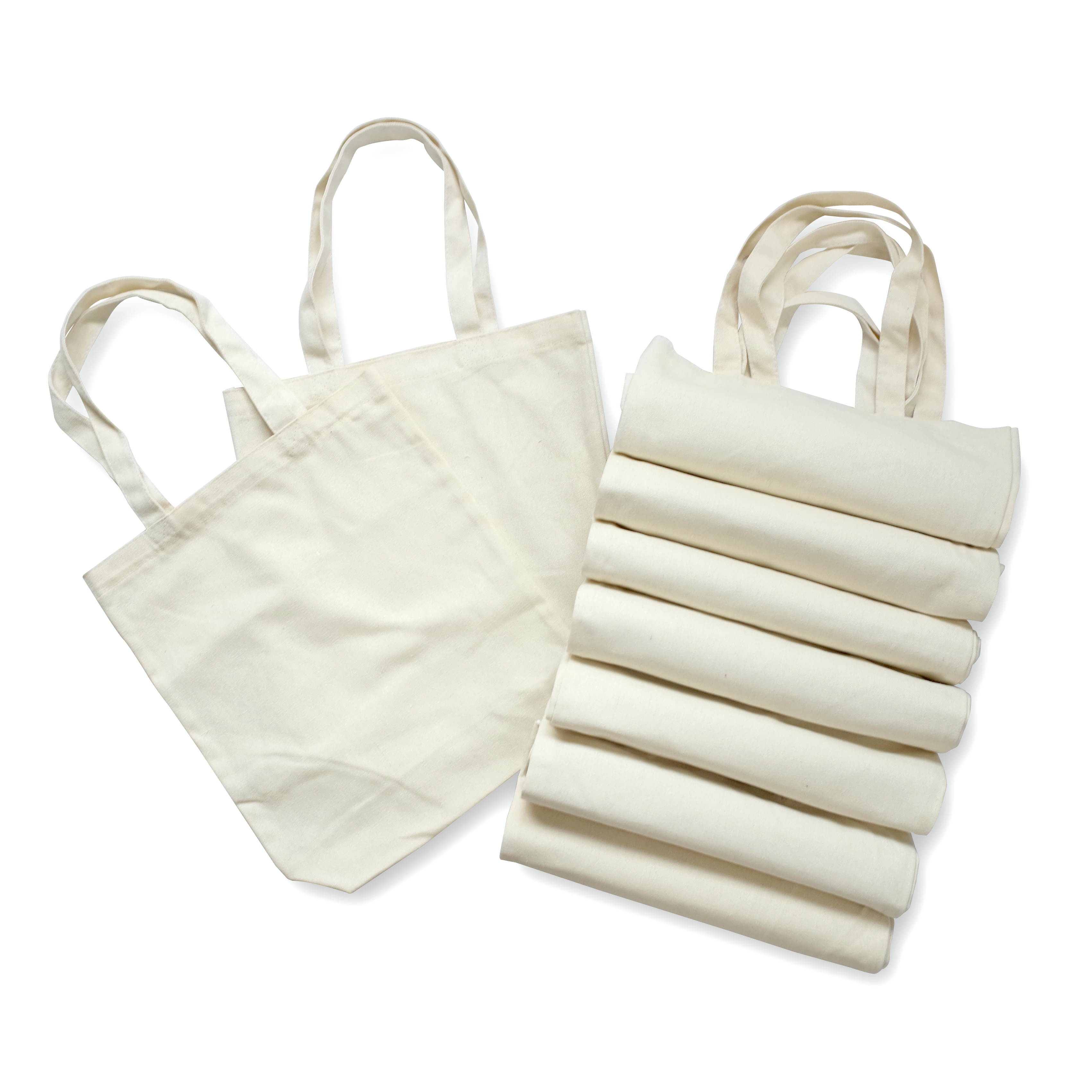 【In-stock】Plain Canvas Tote Bag