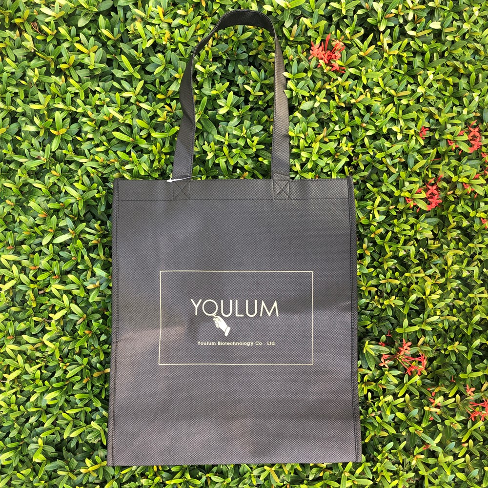 【Customized】Non-woven shopping bag - Black C0005