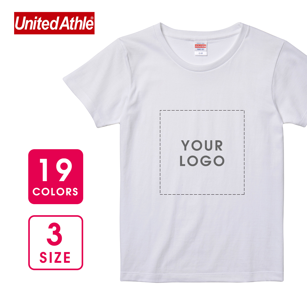 【United Athle】5.6 oz  Women's Classic Short Sleeve T-shirt