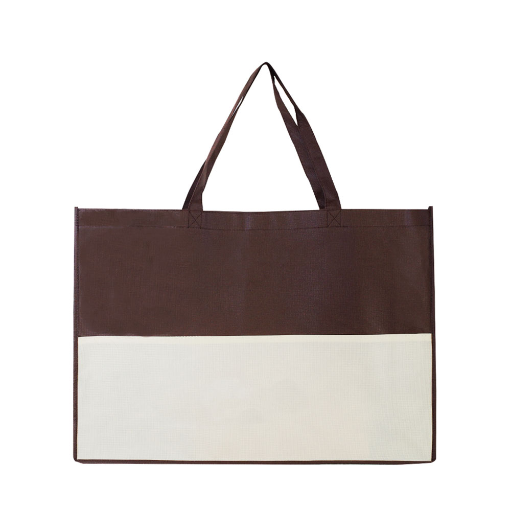 【Customized】Non Woven Shopping Bag - Brown C0011