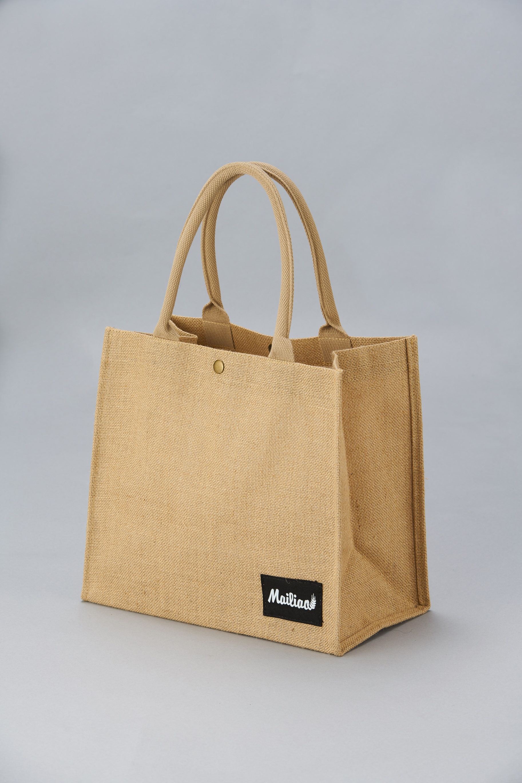 【Customized】Gusseted Jute Bag G0001