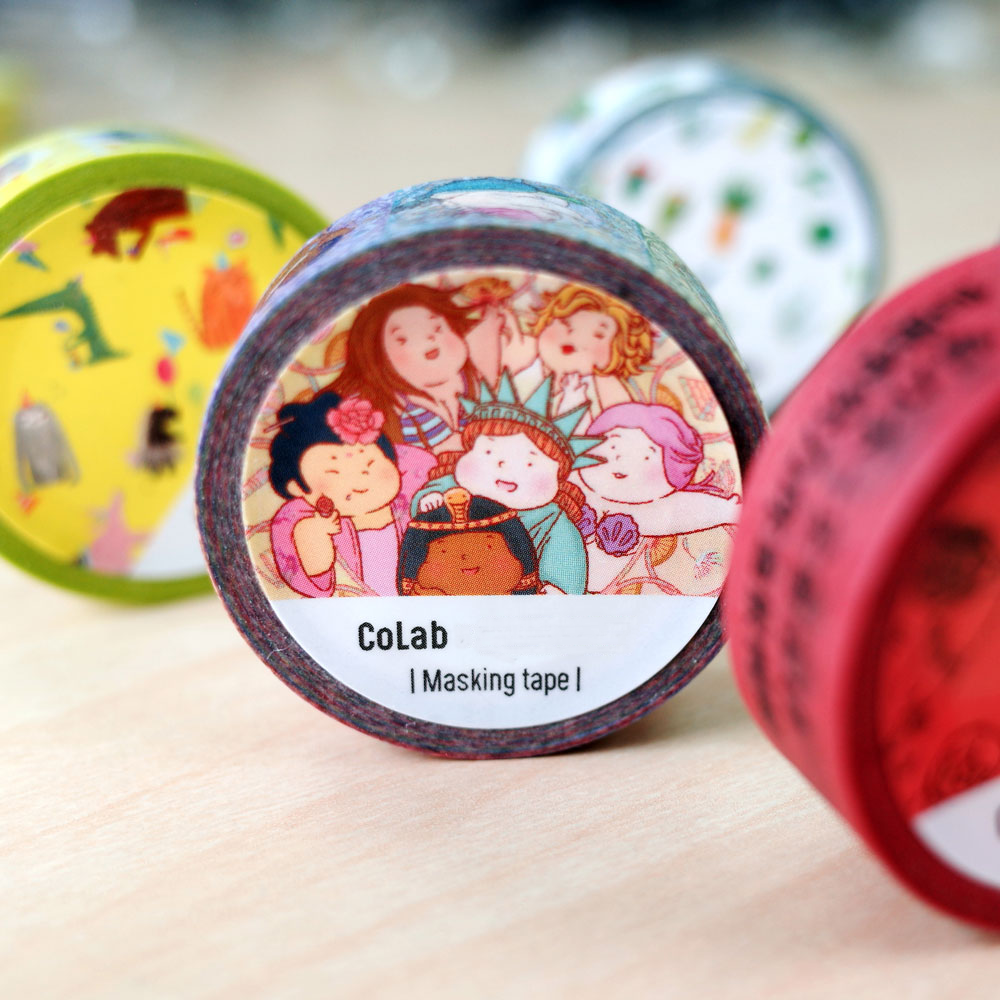 【Customize Printing】Japanese Washi Tape