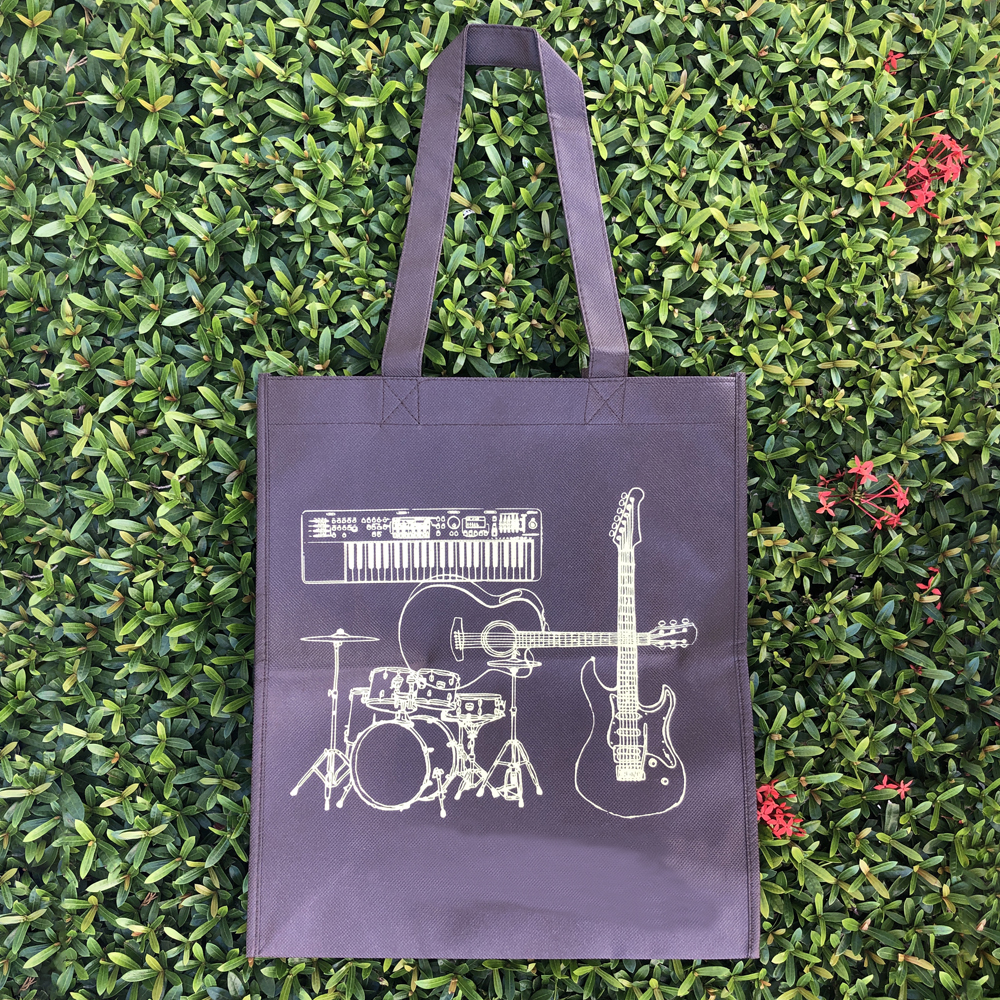 【Customized】Non-woven shopping bag - Purple C0004